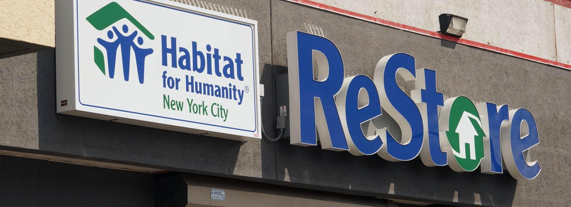 Restore Habitat For Humanity New York City